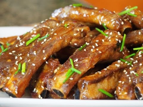 Fried pork rib recipe