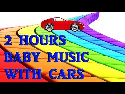 Help your Baby Sleep with Cars 2 Hours ♫ Baby Sleep Music ♫ Disney Pixar Movie Cars