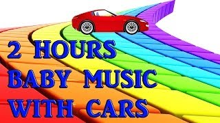 Help your Baby Sleep with Cars 2 Hours ♫ Baby Sleep Music ♫ Disney Pixar Movie Cars