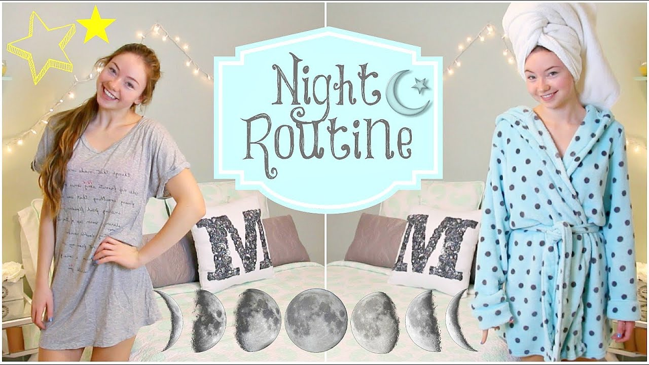 Night Routine: Summer Edition! - YouTube