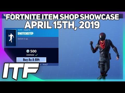 Fortnite Item Shop *NEW* SWITCHSTEP EMOTE! [April 15th, 2019] (Fortnite Battle Royale)