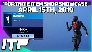 Fortnite Item Shop *NEW* SWITCHSTEP EMOTE! [April 15th, 2019] (Fortnite Battle Royale)