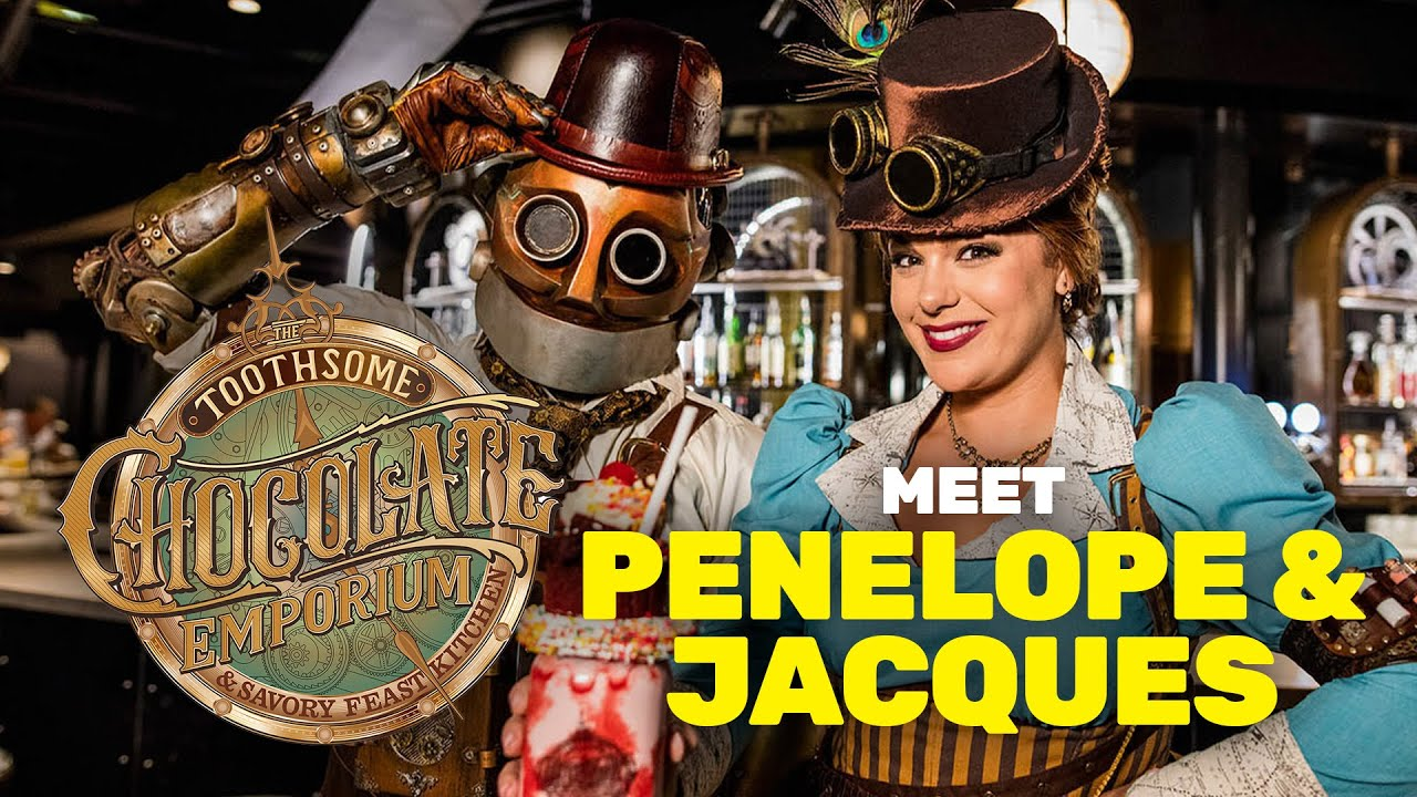 Toothsome Chocolate Emporium Meet Penelope Jacques Universal Orlando
