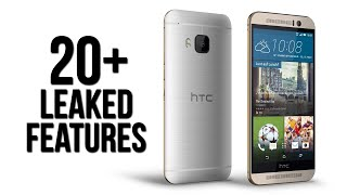 20+ leaked features of the HTC One M9