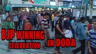 BJP winning celebration in Doda || Namo Namo || Apno Saraz