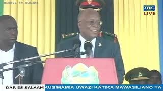 """""""Tumeliwa Kweli, Hakuna kustaafu Endelea Tu"""" -Rais Magufuli - TCRA"""
