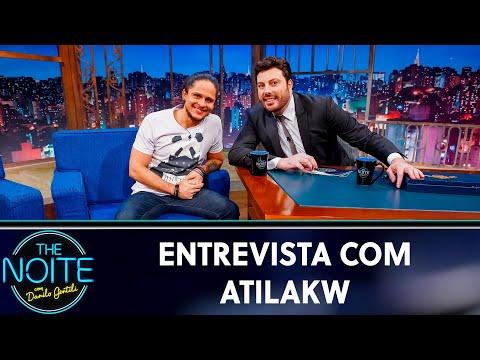 Entrevista com Atila Kw  The Noite 170519