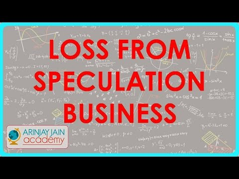 1264. Loss from Speculation Business