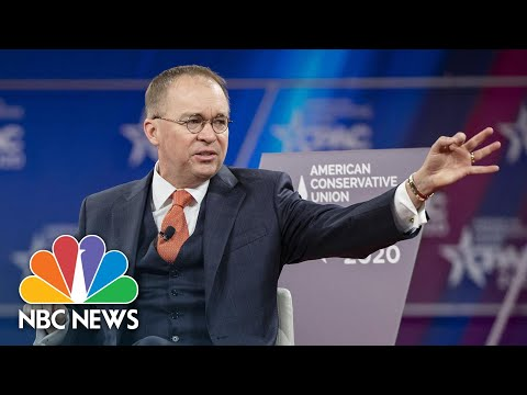 Mulvaney On Coronavirus Precautions: 'We Know How To Handle This' | NBC News