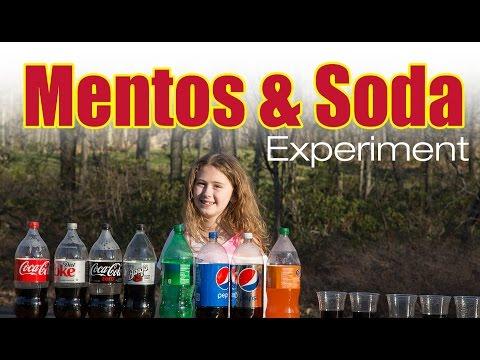 Mentos And Soda Experiment