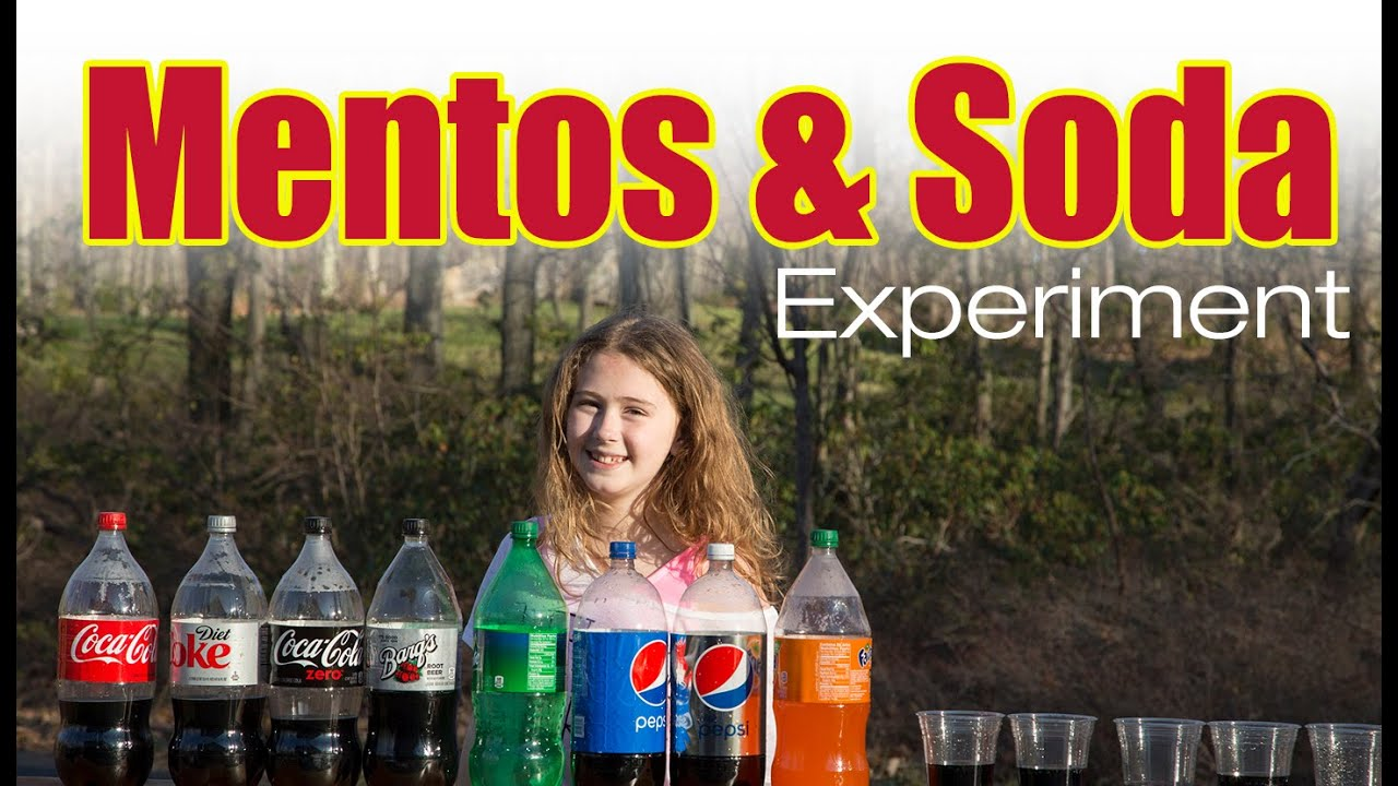 Why Do Diet Coke and Mentos React?