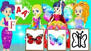 الخياط الشجاع  Equestria Girls Princess Story in Arabic  Arabian Fairy Tales 216