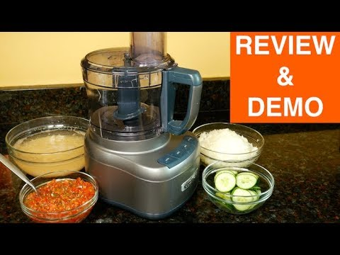 86687e76c5b6 Cuisinart FP 8SV Elemental 8 Cup Food Processor Review - YouTube