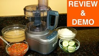 Cuisinart FP 8SV Elemental 8 Cup Food Processor Review