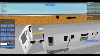 ROBLOX TRAIN DRIVING ON SUBWAY TESTING
