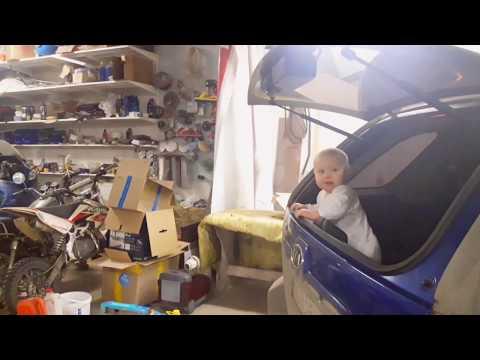 Зачем нужно открывающееся стекло багажника или папа пошел в гараж
