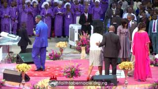Pastor EA Adeboye ministration at Winners Chapel Living Faith Church Worldwide 35th Anniversary
