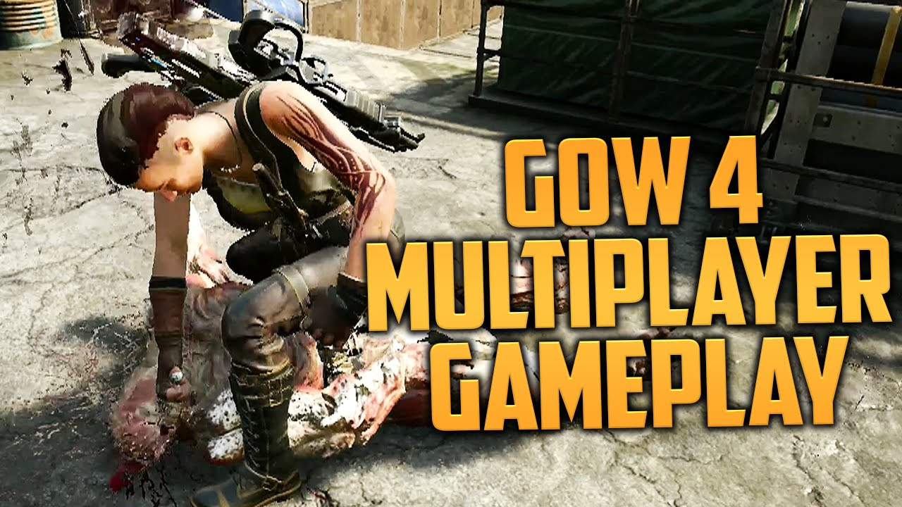 GEARS OF WAR 4 MULTIPLAYER GAMEPLAY! (GoW 4 Multiplayer Beta - Thoughts &  Impressions)