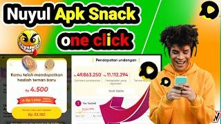 cara nuyul APK snack langsung jadi koin terbaru 2021 - aplikasi penghasil uang