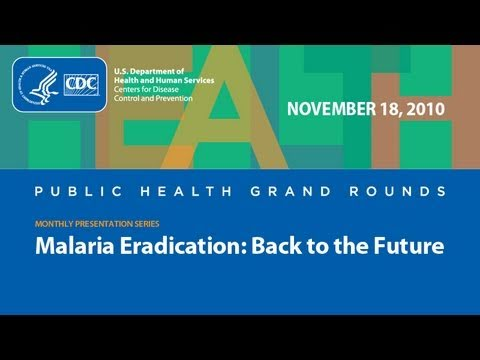 Malaria Eradication: Back to the Future