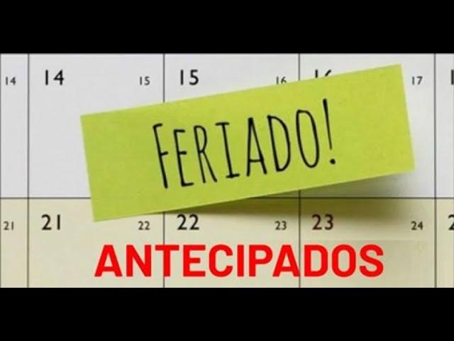 A antecipação dos feriados e os impactos trabalhistas