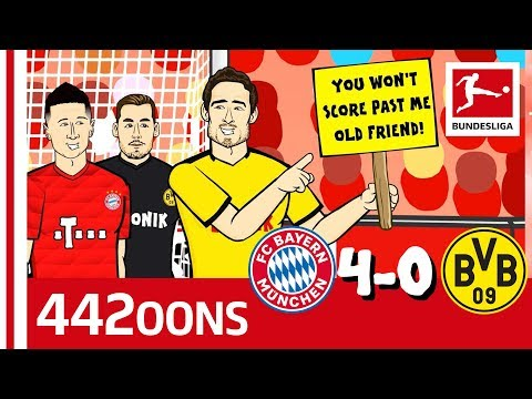 FC Bayern München vs. Borussia Dortmund | 4-0 | Der Klassiker - Highlights Powered by 442oons