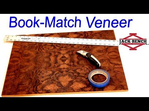 Fun with Wood Veneer! - 4 Way Book Match