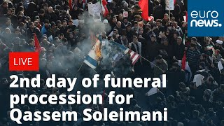 2nd day of funeral procession for Iran's top general Qassem Soleimani | LIVE