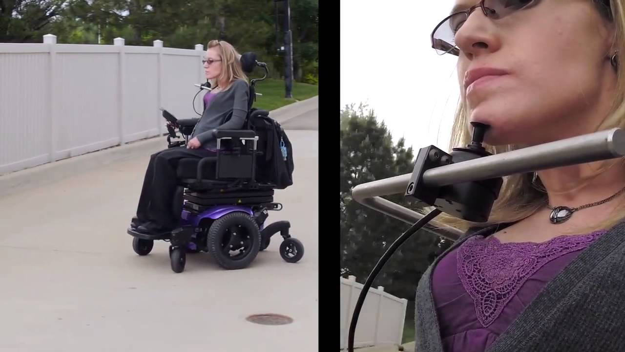 Power Wheelchair Controller Boho Patchwork Chair Quickie Proportional Specialty Control Input Devices - Youtube