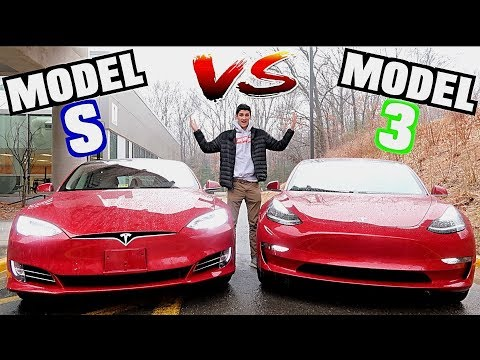 Tesla Model 3 vs Tesla Model S Comparison! Which Should You Buy?!