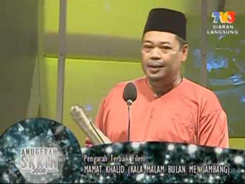 Mamat Khalid in Anugerah Skrin 2008
