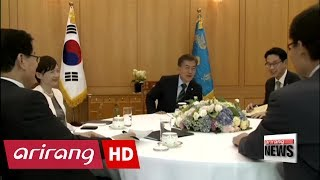 President Moon makes first disclosure of THAAD deployment timetable