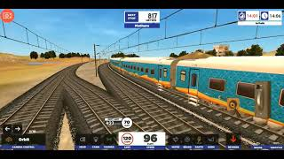 New Delhi to kota train journey of Humsafar Express in ITS