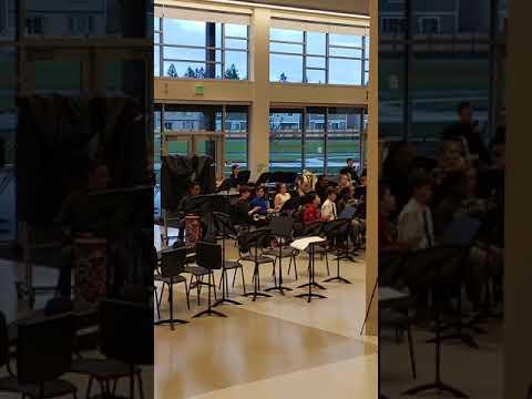 April 2019 Salish Middle School Band Concert