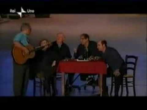 Celentano Gaber Fo Jannacci Albanese - Ho visto un re