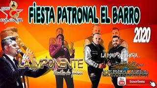 LA IMPONENTE VIENTOS DE JALISCO y BANDA PERLA AZUL(Fiestas Del Barro 2020 Jalisco)  3317618958