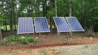 1.1KW Solar/Propane generator tie in to power off grid barn install by Off Grid Contracting