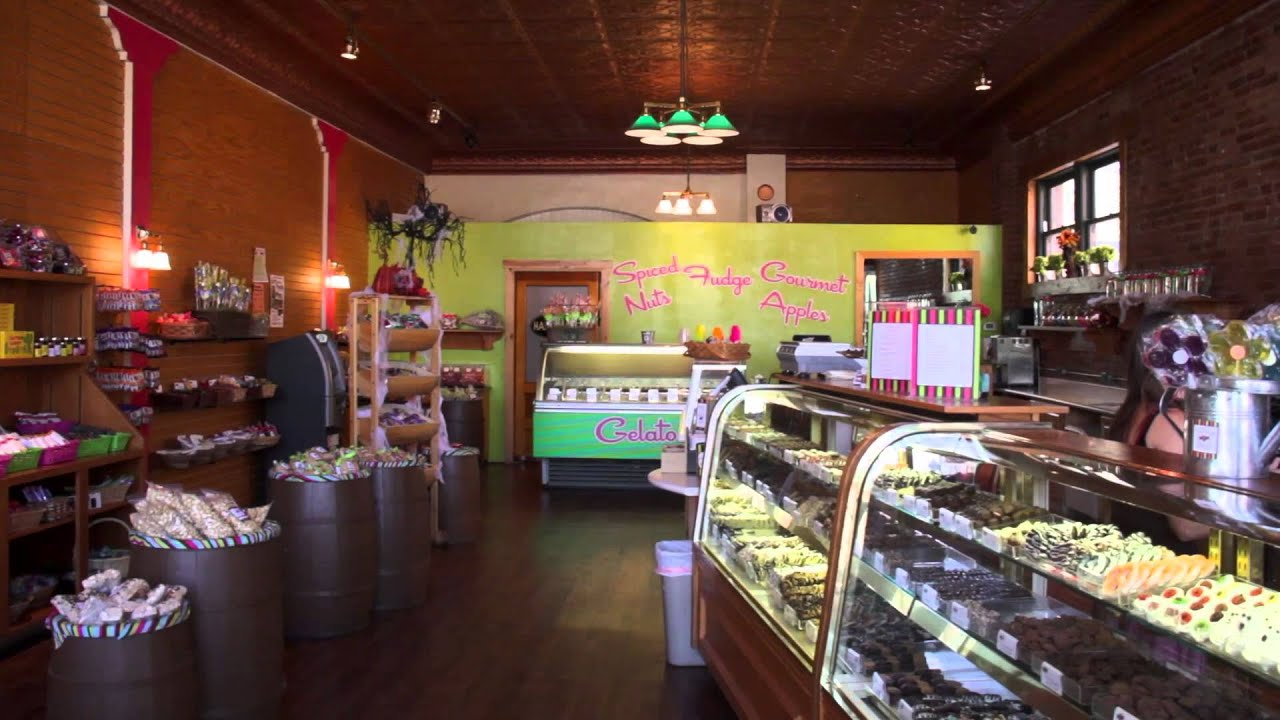 Sweet shoppe nut house franchise opportunity youtube for Pecan house