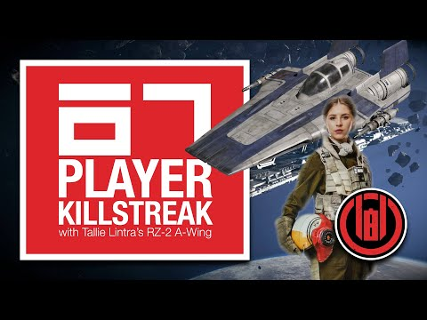 67 Player Killstreak with Tallie Lintra's RZ-2 A-Wing [SWBF2: Starfighter Assault]