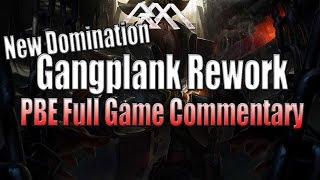 Gangplank Rework Gameplay - League of Legends