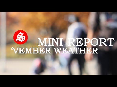 MINI REPORT #1 // November Weather
