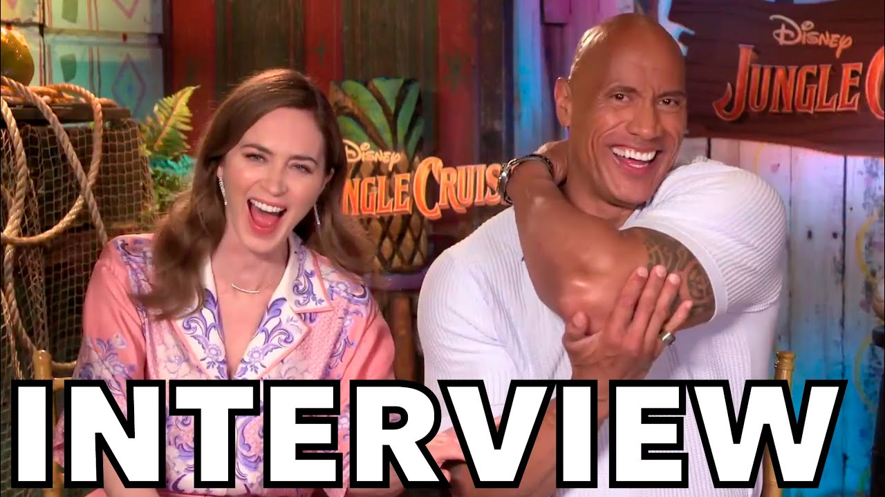 JUNGLE CRUISE | Dwayne Johnson and Emily Blunt Hurl Insults in Hilarious Interview