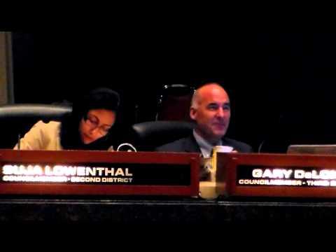 DeLong, City Council General Meeting, Long Beach, 10/2/12 (Part 3)