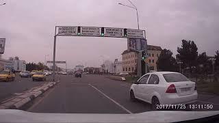 Drive through Karshi city, Uzbekistan Nov 2017   г. Карши, Узбекистан Ноябрь 2017   Karshi shahar 17