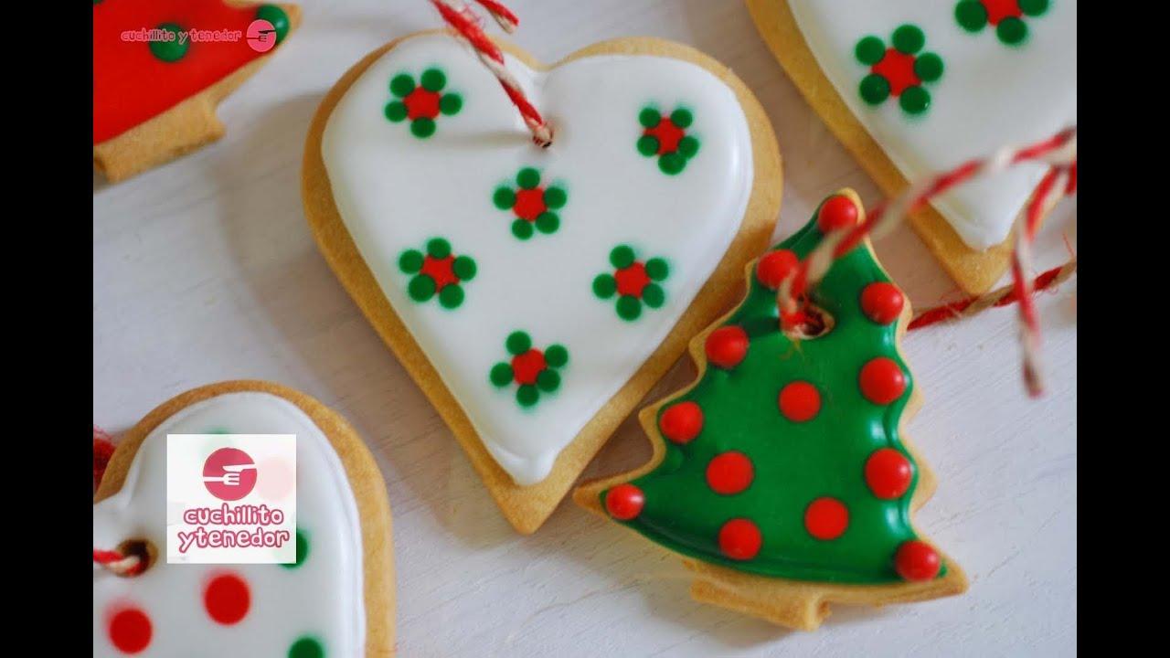 Decoración de galletas para el árbol de navidad. Cuchillito y ...