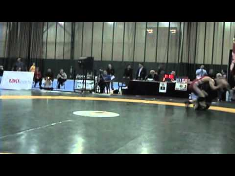 2009 Junior National Championships: 66 kg Greco Final Ilya Abelev vs. Austin Van Horne