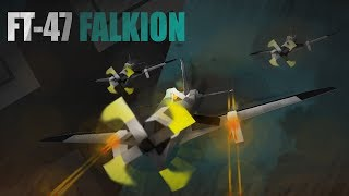 ROBLOX- Plane Crazy [Alpha] [Tutorial] FT-47 Falkion (WW2 Inspired)