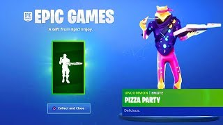 COLLECT THIS FREE EMOTE! *Pizza Emote*