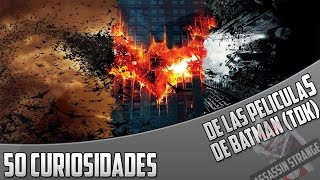 50 Curiosidades de las películas de Batman (Nolan,TDK)