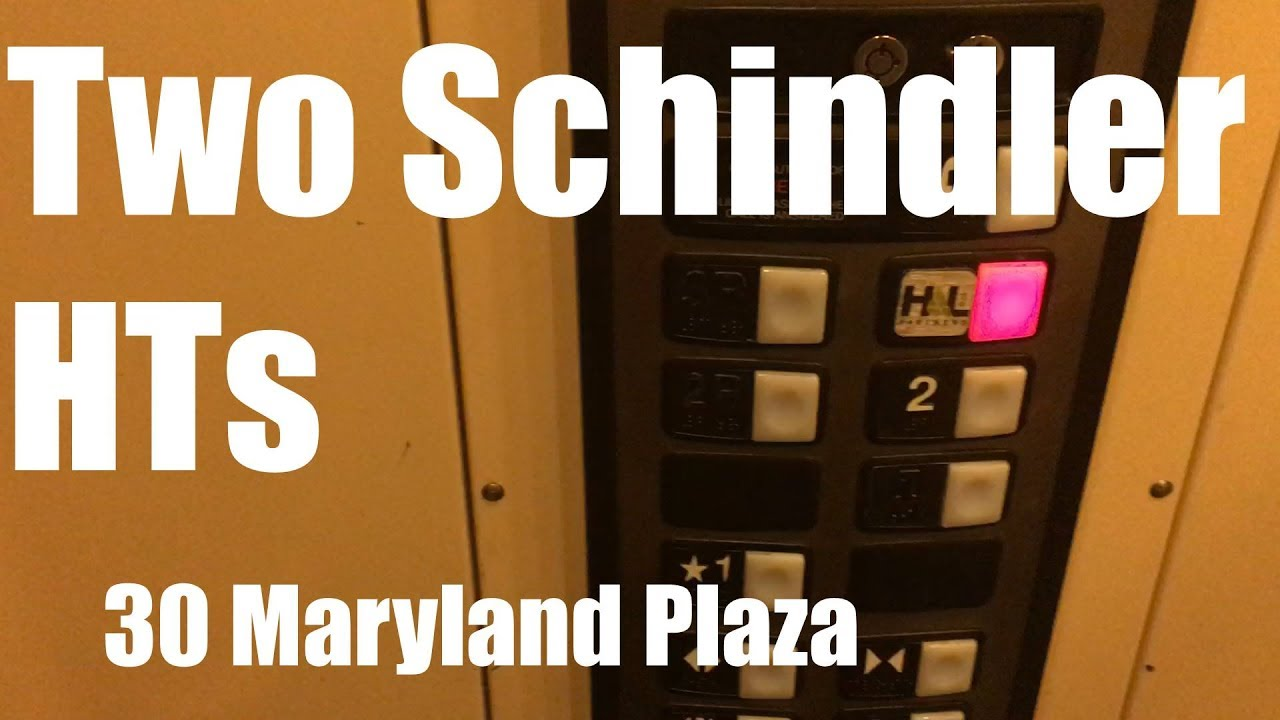 Schindler Hydraulic Elevators @ 30 Maryland Plaza, Central West End